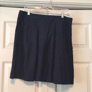 Tommy Hilfiger Navy Blue Skirt
